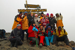 On the summit - Saturday 16th September 2011